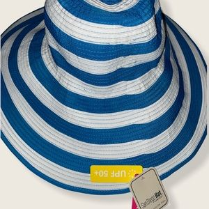 BNWT San Diego Hat Company blue and white hat